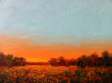 Mississippi Horizon Painting