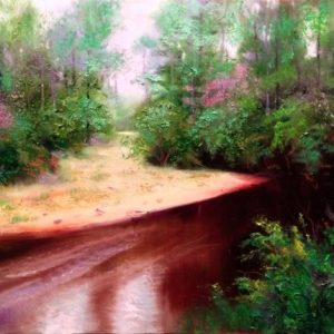black water creek painting