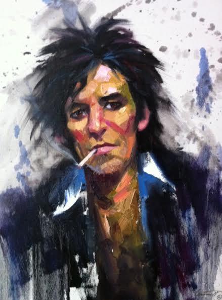 Portrait Sketch Painting