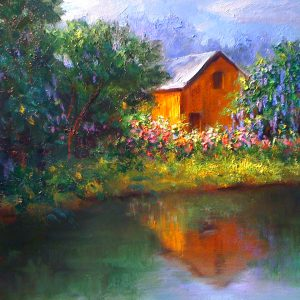 Afternoon Reflections Oil Painting