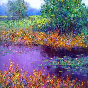 Broken Collar Creek Painting