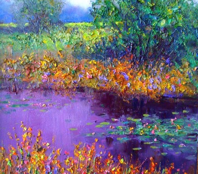 Broken Collar Creek Painting
