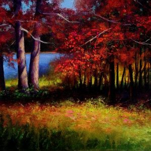 Indian Summer Oil Painting