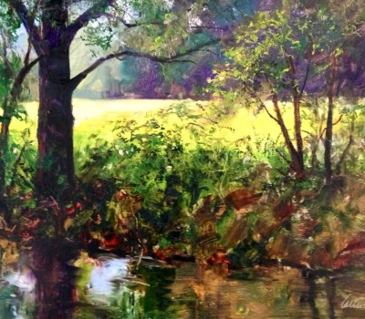 Summer Creek Painting