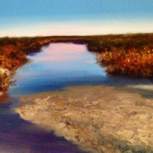Alabama Saltwater Marsh Painting