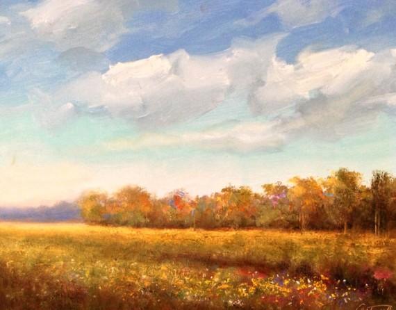 Solitude Landscape Painting