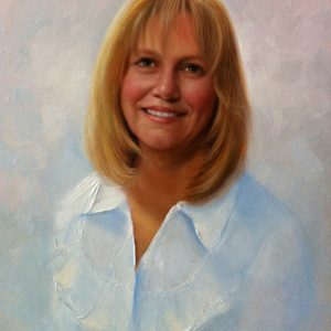 Debbie Oil Painting