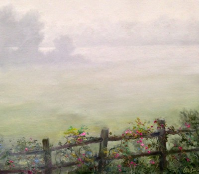 Early Morning Fog Oil Painting