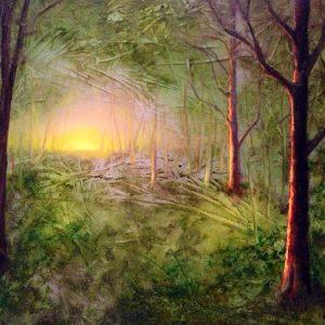 Imaginary Lanscape Painting