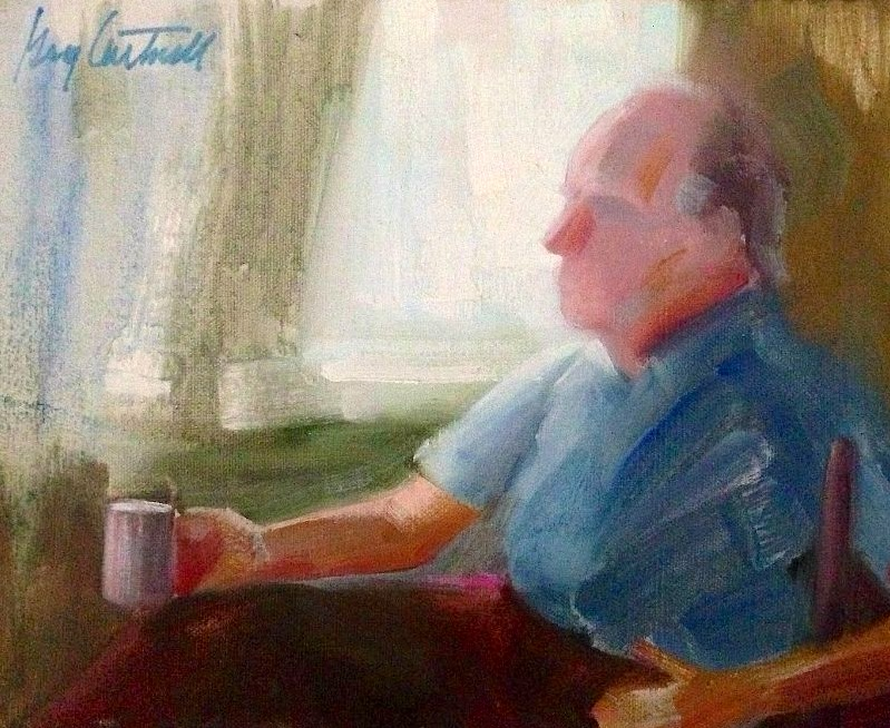 Morning Coffee Man