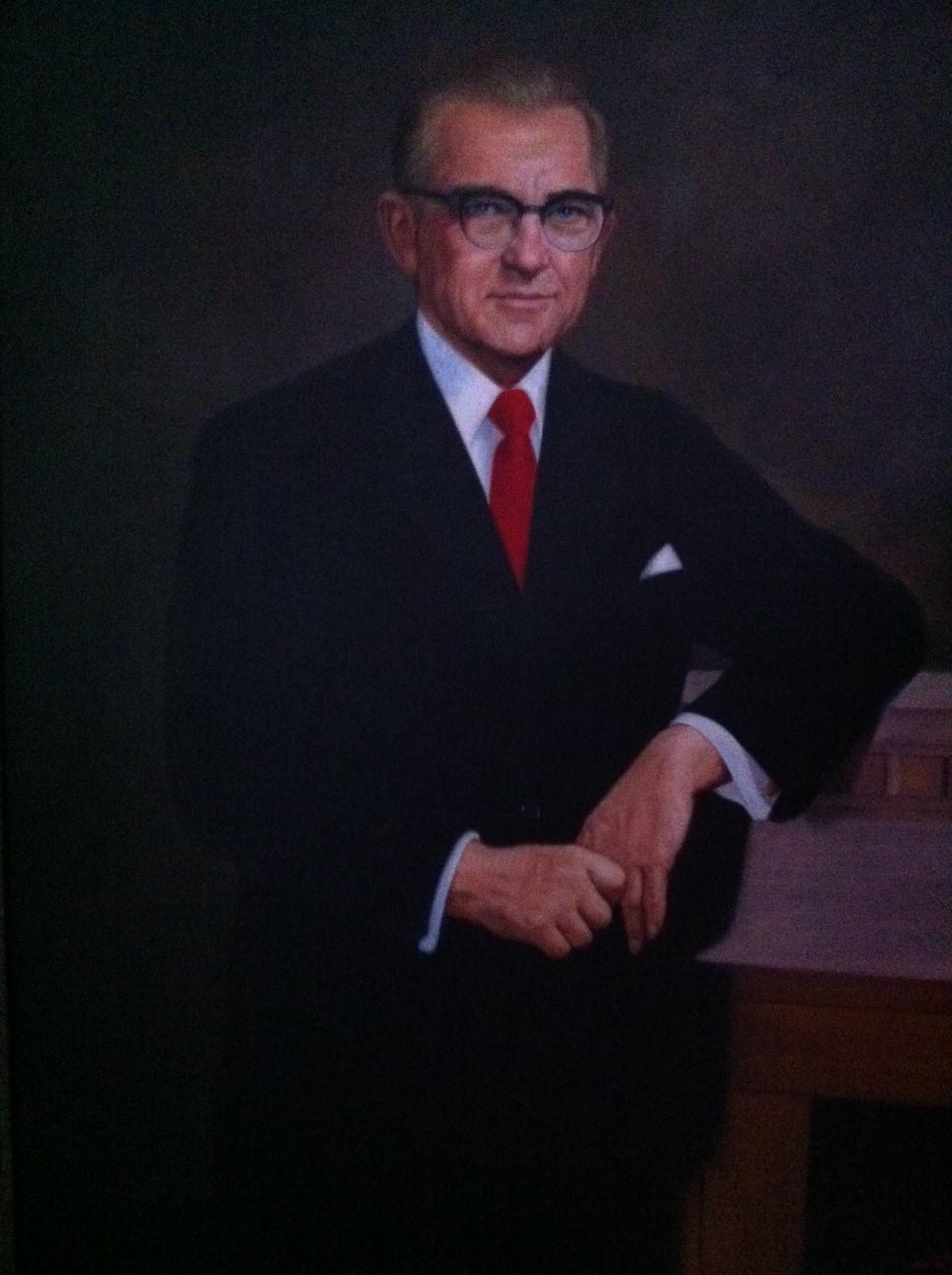 Senator Stennis Painting