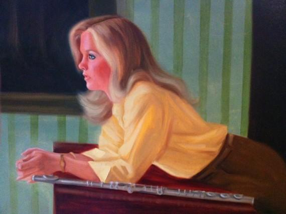 Susan Aiken Portrait Painting