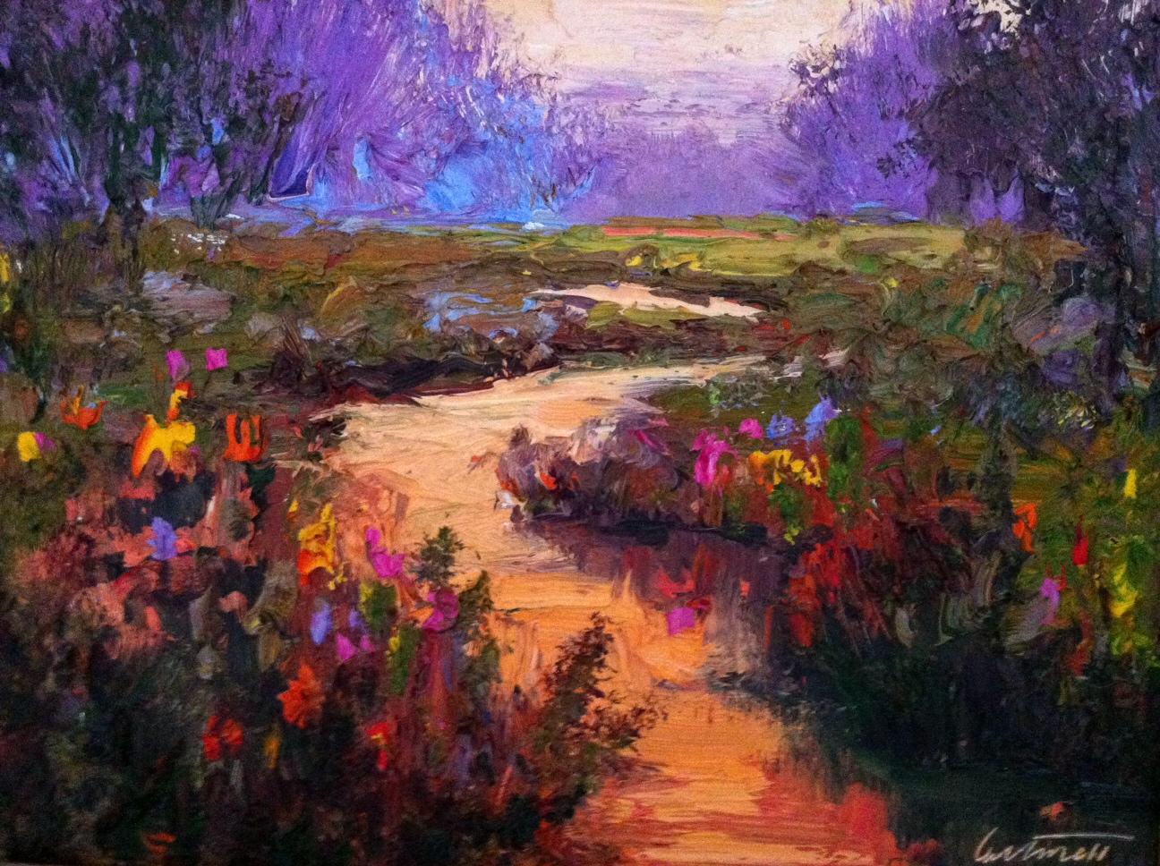 Lancashire Landscape Oil Paintings