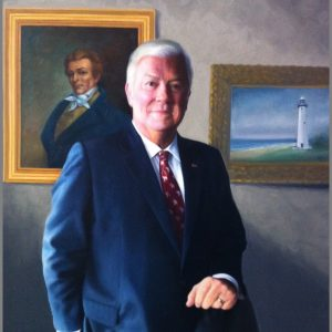 Govenor Haley Barbour Portrait Paining