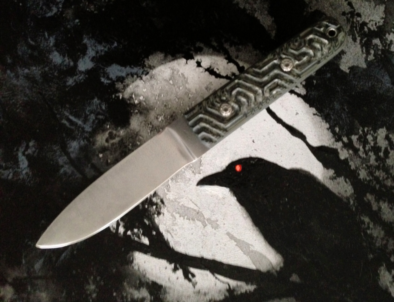 Handmade Tactical Fighter Knife
