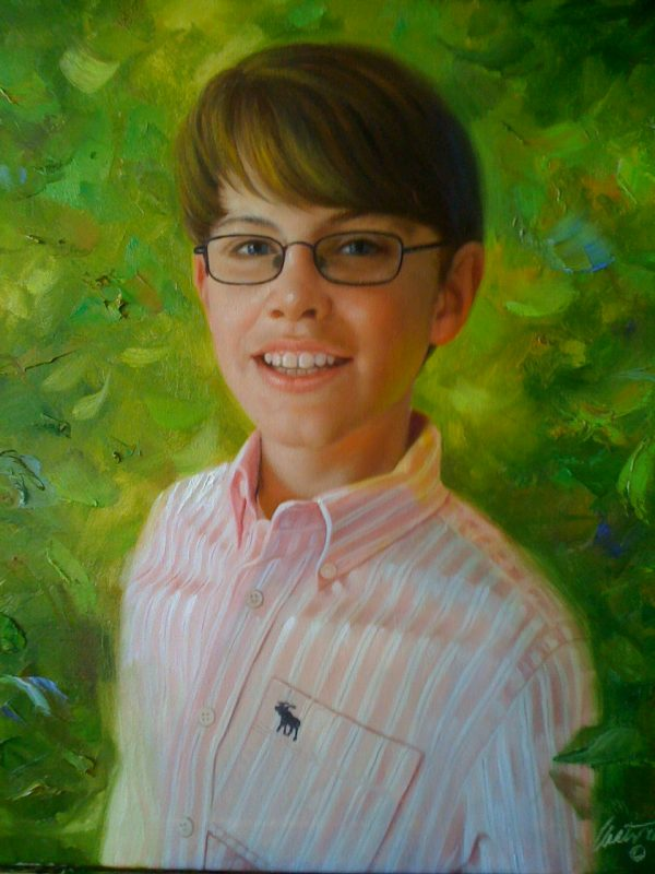 Portrait Painting of Connor