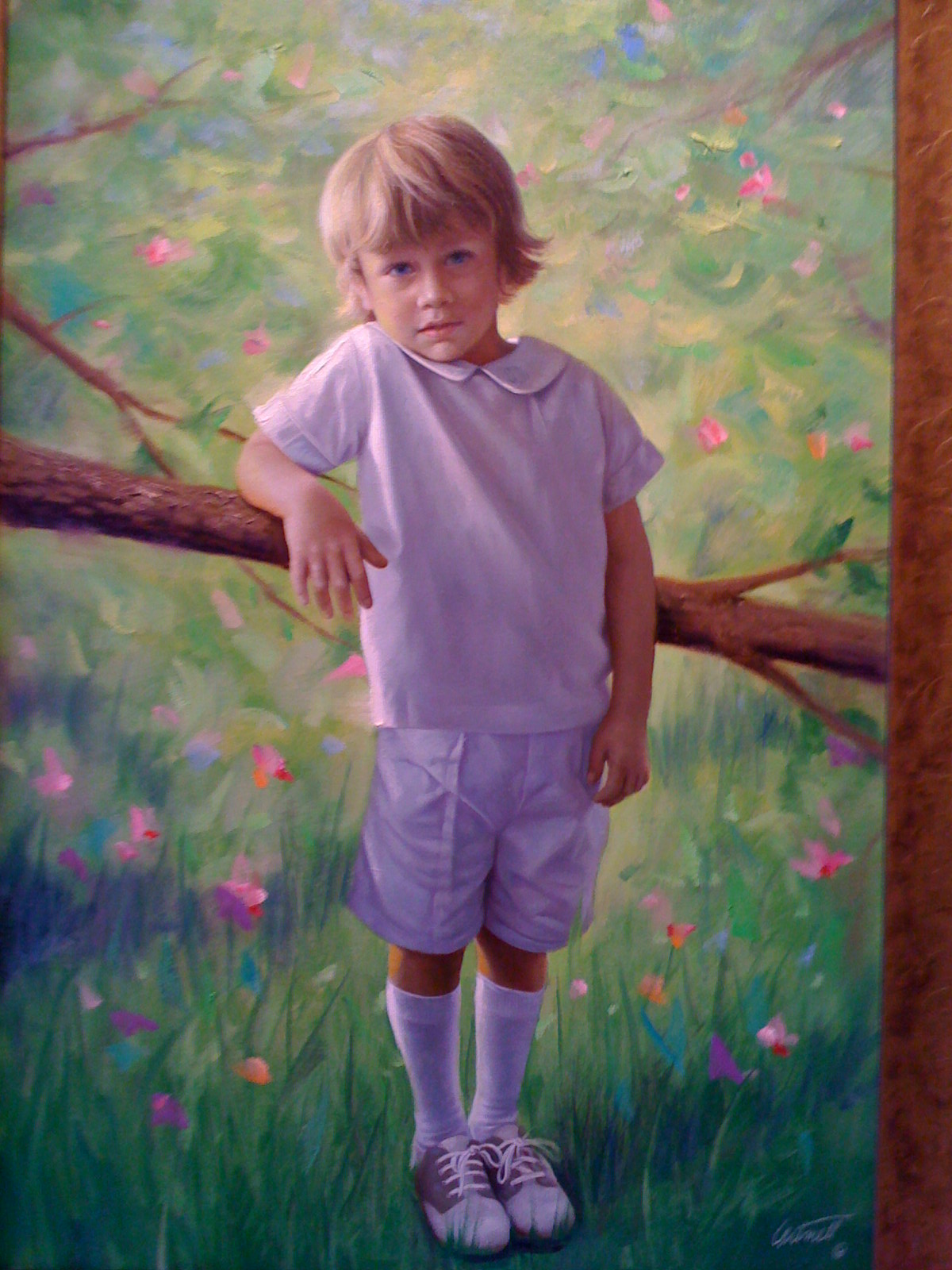 Portrait Painting of Max