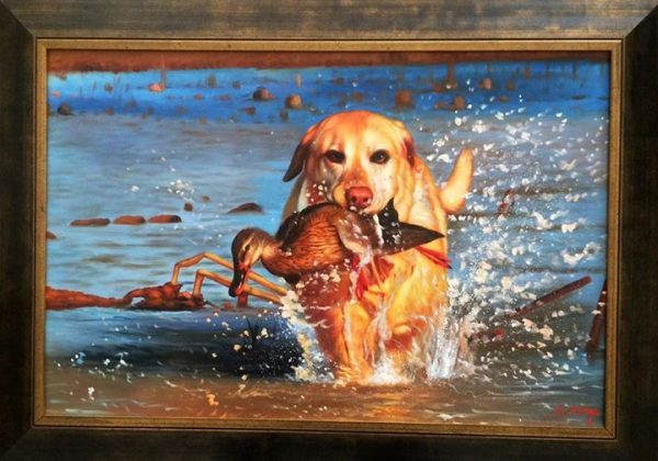 duck hunting paintings
