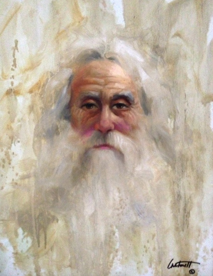 Character Study Old Man Painting