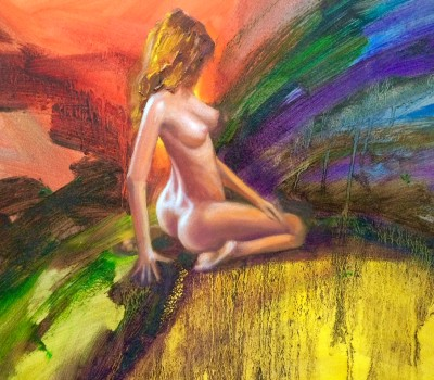 Colorful Nude Art Work