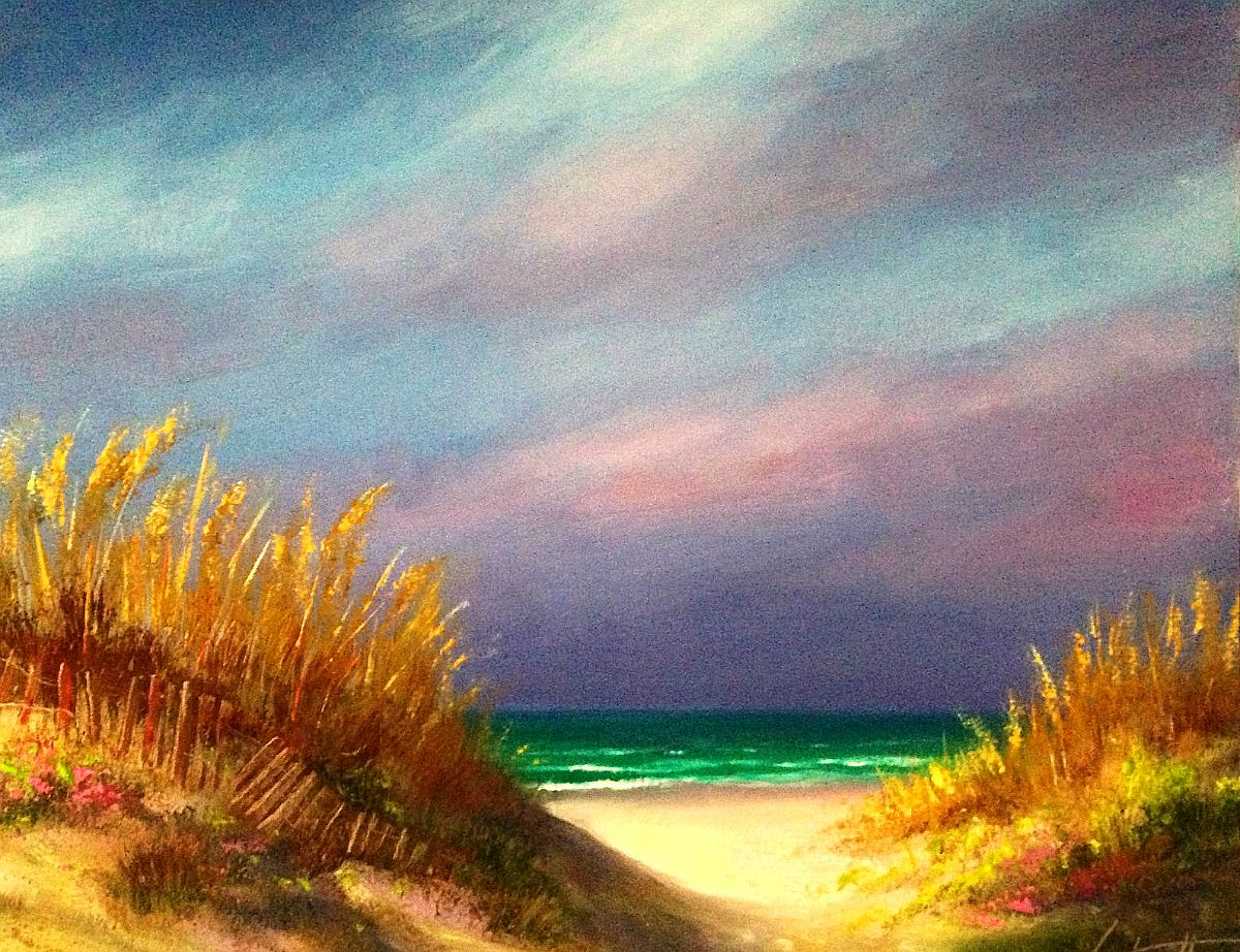 Emerald Coast Orange Beach Alabama Painting