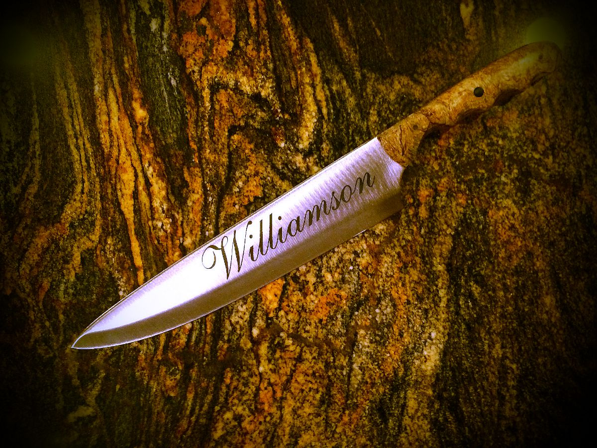 Large Personalized Chef Knife