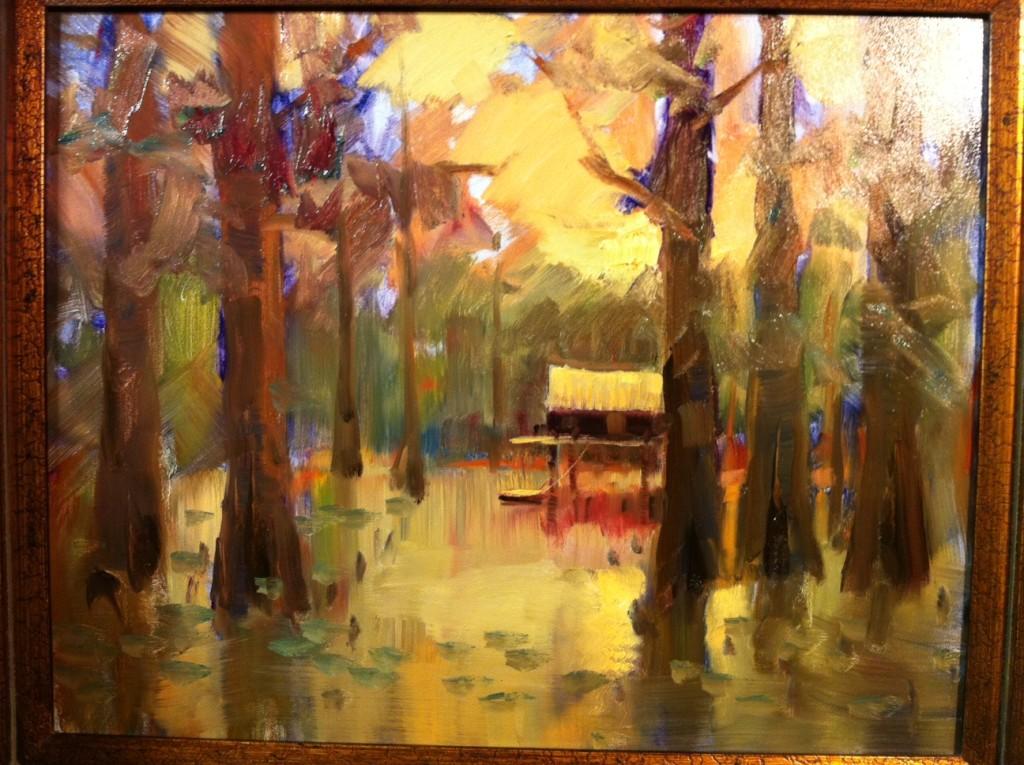 Louisana Cajan Cottage Painting