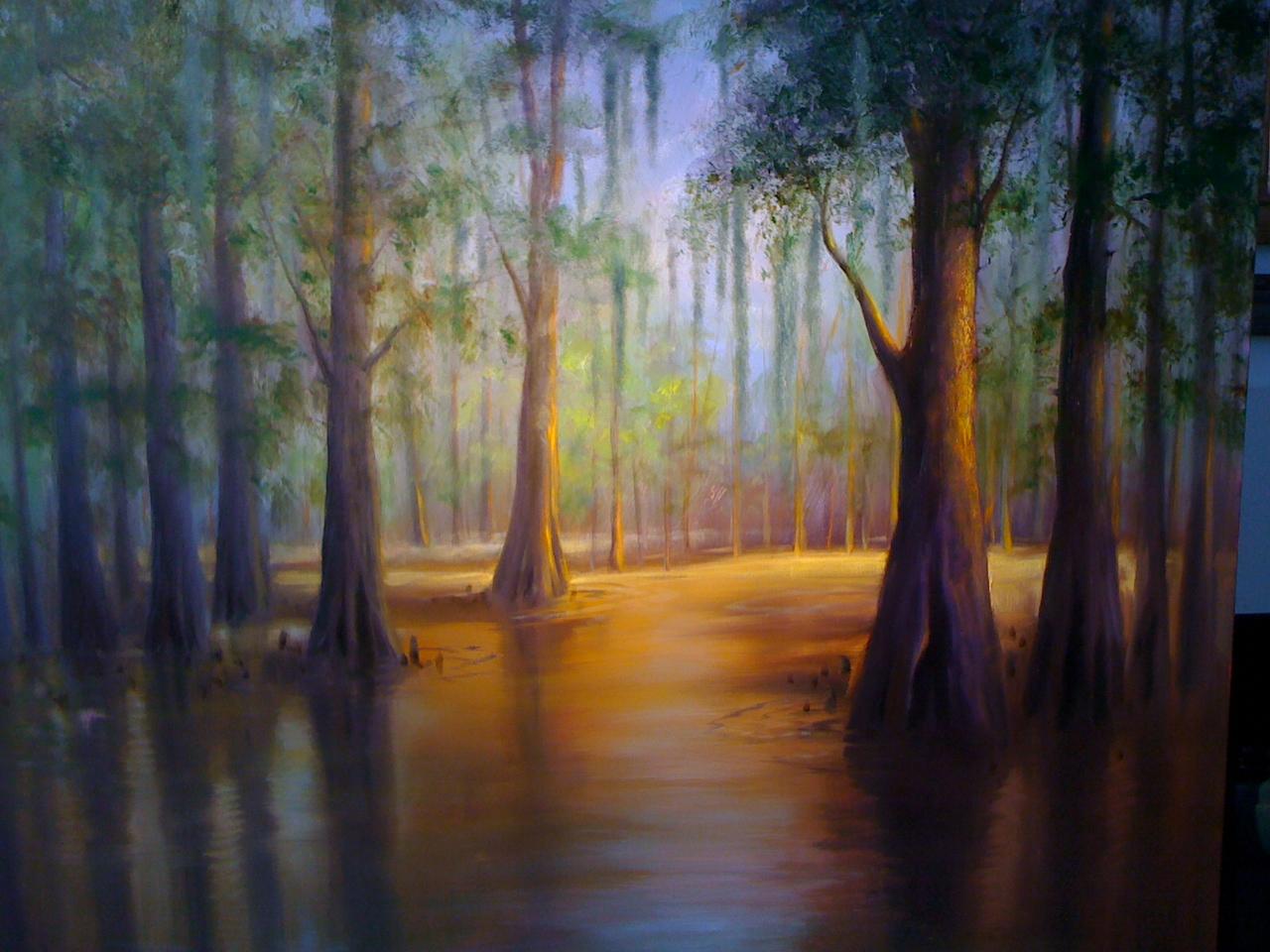 Louisiana Art At The Swamp