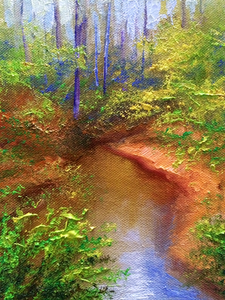 Mississippi Creek Painting