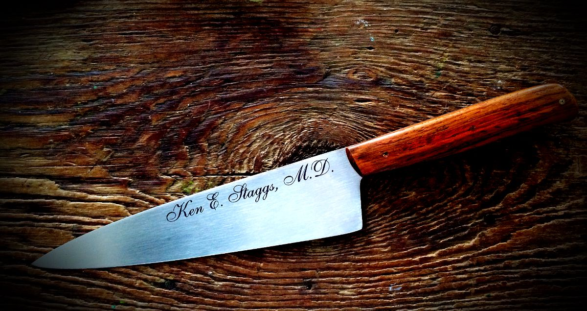 Personalized Custom Chef Knife