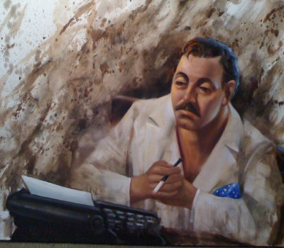 Tennessee Williams Painting