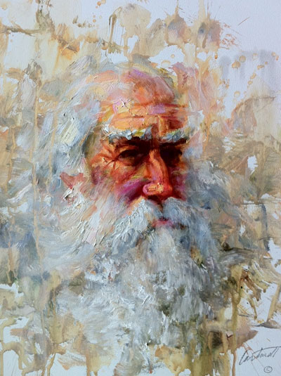 Another Old Man Painting