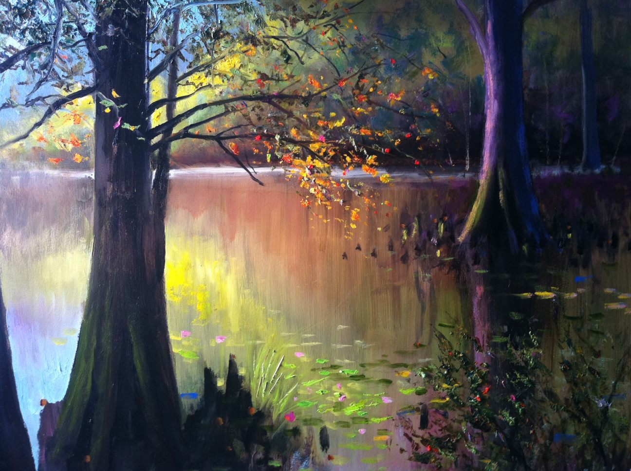 Burnside Swamp Painting