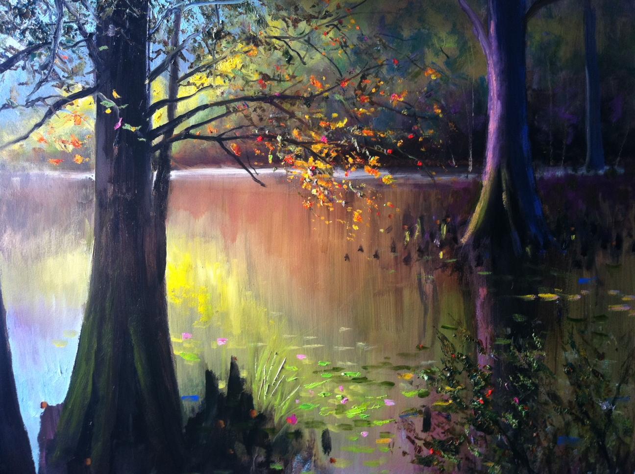 Burnside Swamp Painting