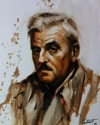 william faulkner painting