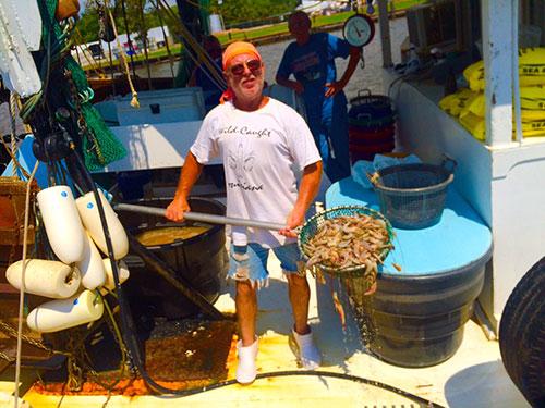 louisana shrimp boat captian