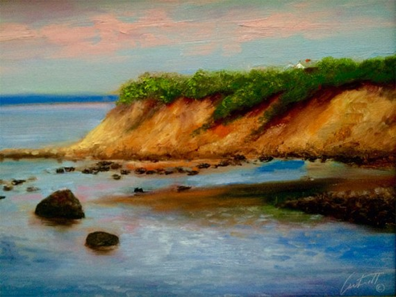 Manomet Oil Painting