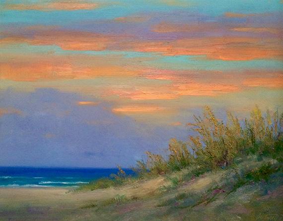 soft light emerald coast