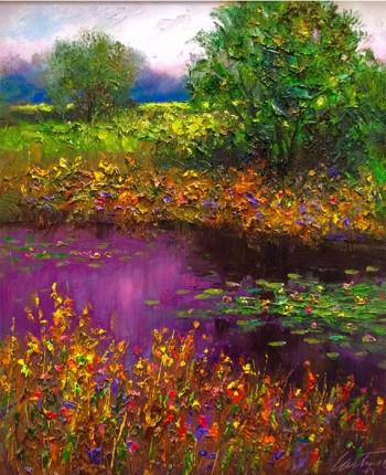 field study artwork 20x24