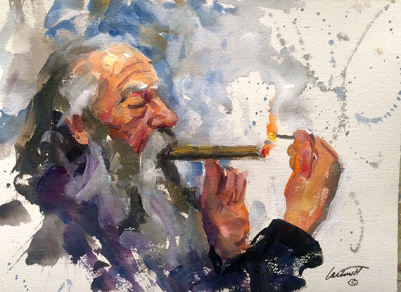 original cigar art