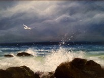 seascape painting series