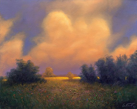 Golden Hour Plein Air Painting