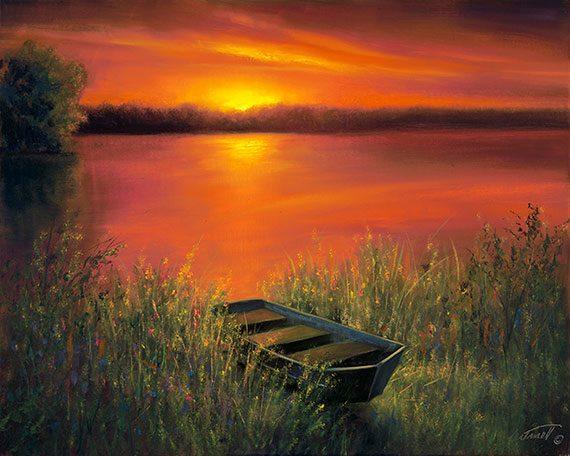 Sunset Sail in Livingston, MS