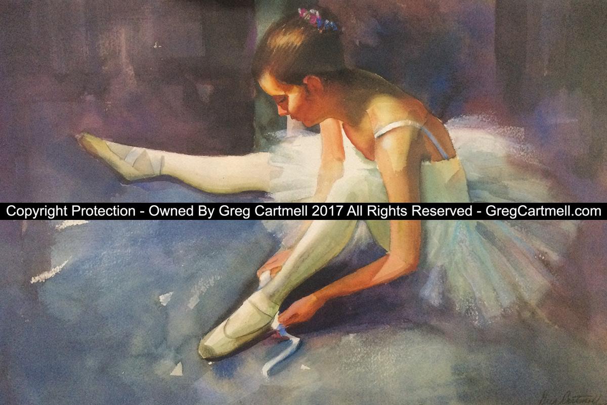 ballerina giclee free artwork