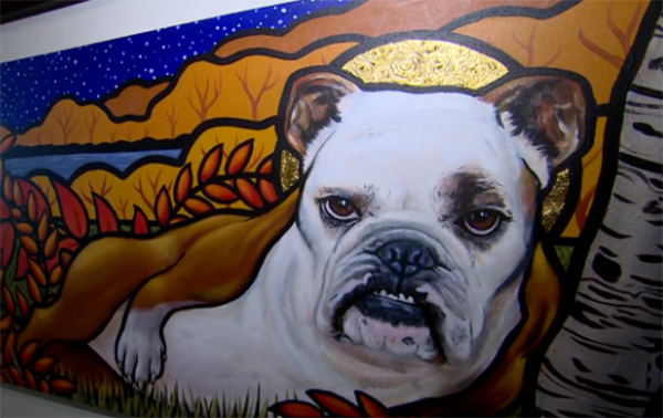 zsu zsi bulldog art