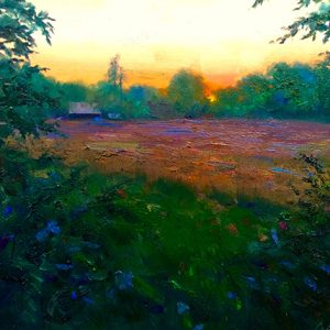Bailey Evening Oil Painting