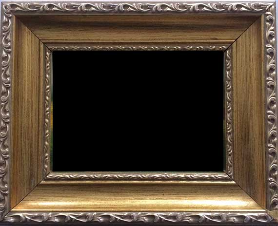 Gold Leaf Frame For 8x10 Painting
