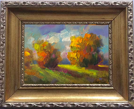Autumn Light Framed