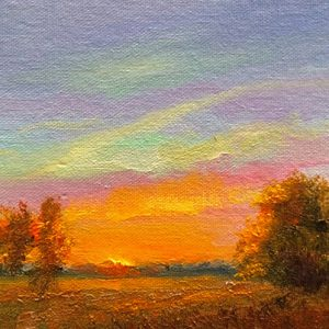 Dusk Oil Painting