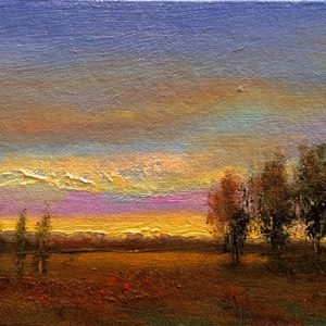 Easy Evening Oil Painting